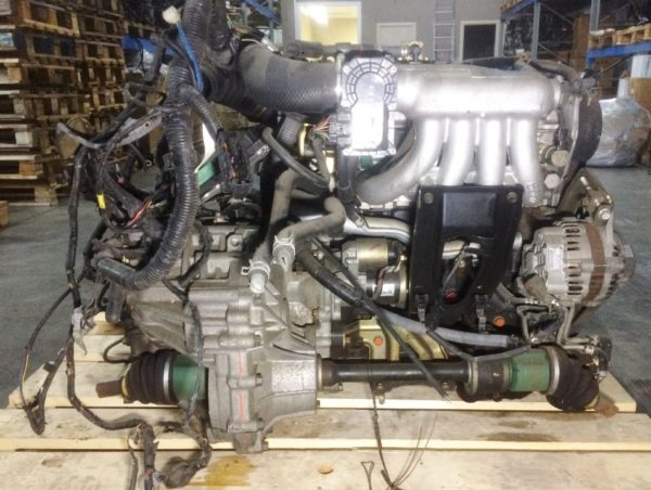 Двигатель Mitsubishi 4G15-T - GH3982 CVT FF MIVEC коса+комп 1