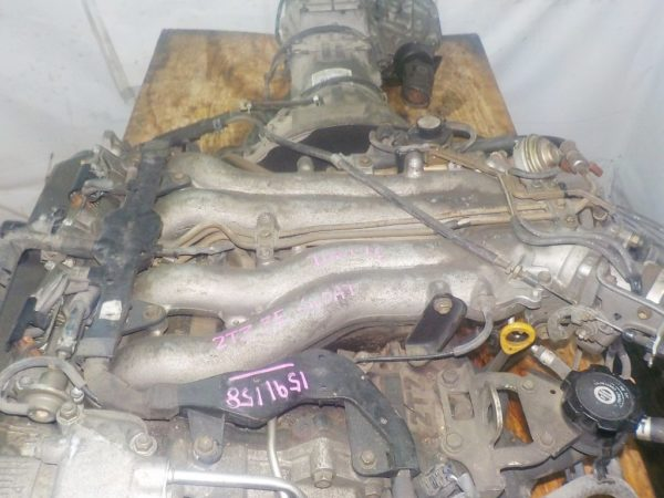 Двигатель Toyota 2TZ-F - 1591158 AT 30-40LE 35000-28870 FR 4WD 2
