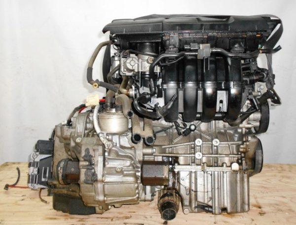 Двигатель Volkswagen BLF - 214065 AT FF Golf 180 000 km 4