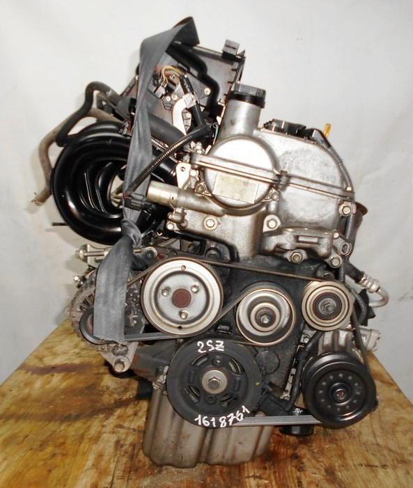 Двигатель Toyota 2SZ-FE - 1618761 CVT K410-05A FF SCP90 137 000 km коса+комп 3