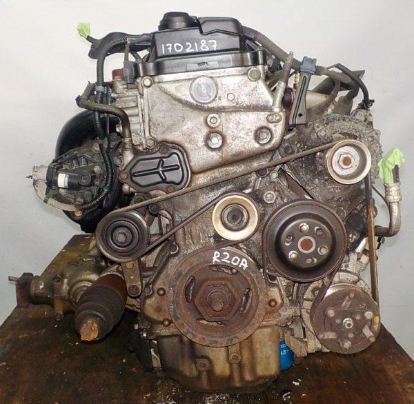 Двигатель Honda R20A - 1702187 AT MXHA FF 4WD RK коса+комп 4