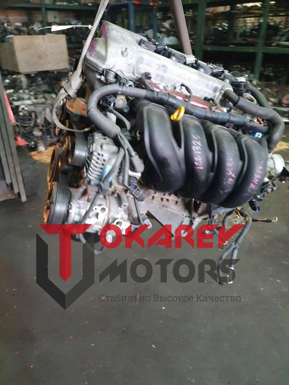 фото двигателя toyota 1 zz-fe